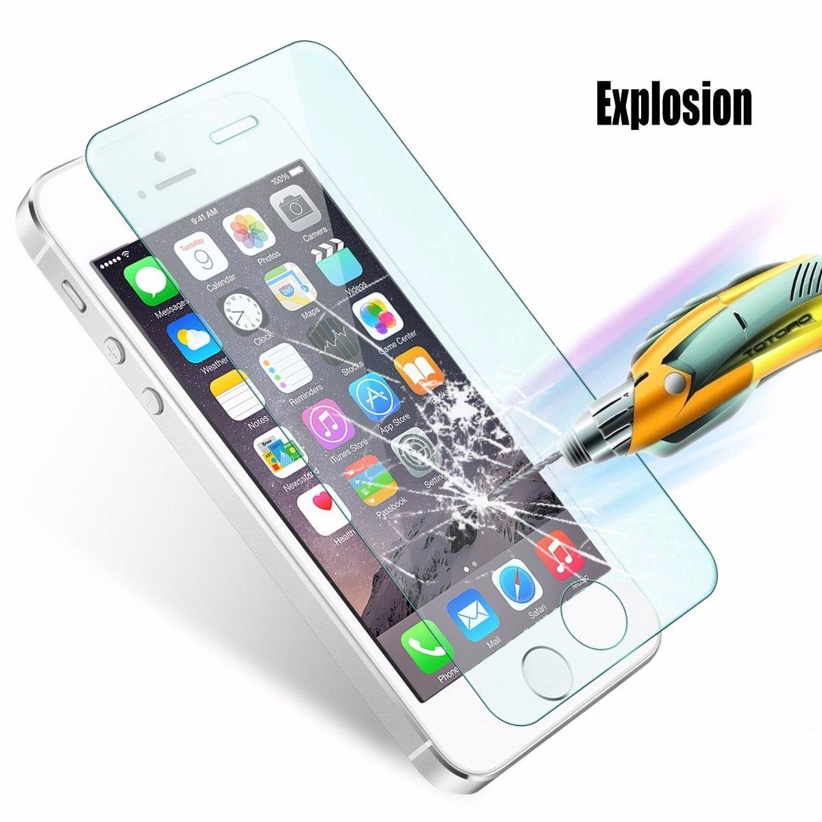 13199258882 Mica Cristal Templado iPhone Se 2-pack Premium Hd - $ 199.00 en ...