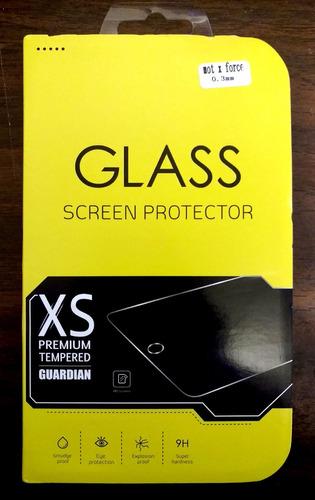 mica cristal templado moto x force xt1580 9h premium