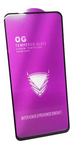 mica cristal templado real 5d huawei nova 5t p30 mate 20 lit