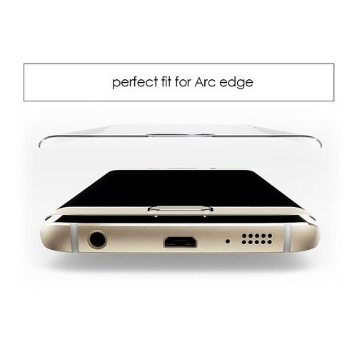 mica cristal templado s7 edge curvo 9h premium. gratis envio