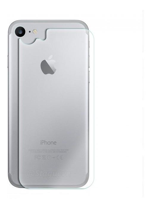 0b8fd69c20d Mica Cristal Templado Trasera iPhone 7/8 Back Side 2.5d - $ 15.00 en ...