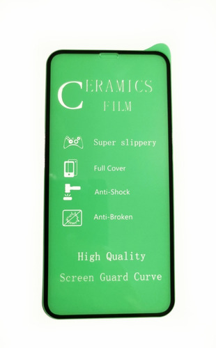 mica de ceramica iphone x protector de pantalla