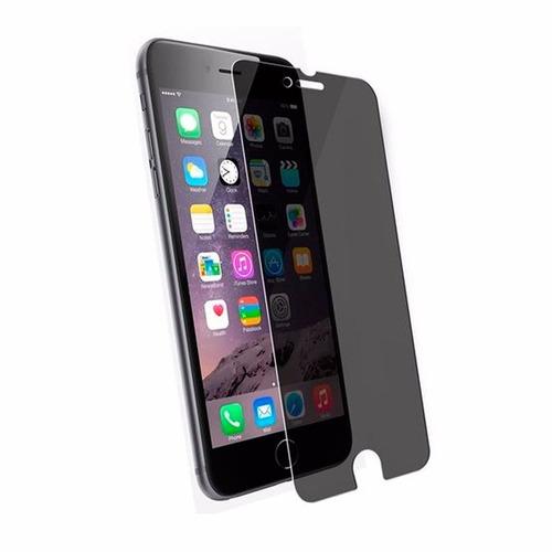 mica de cristal templado de privacidad para iphone 6+ 6 5 4