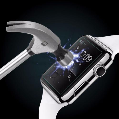 mica de cristal templado para apple watch 42 mm 38mm