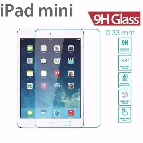 mica de cristal templado para ipad mini