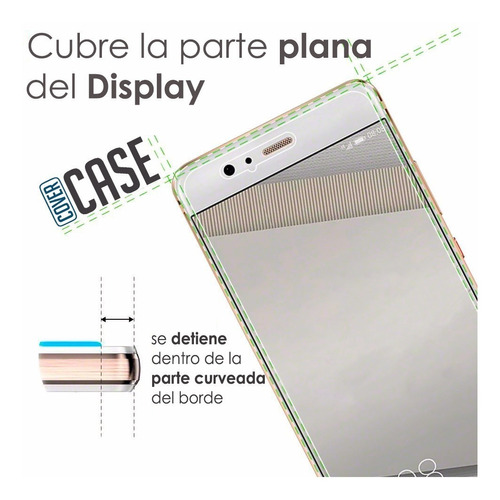 mica de privacidad glass cristal templado iphone 6/ 6s plus