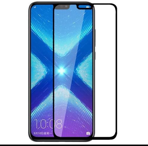 mica de vidrio completa 5d iphone x