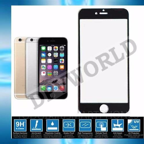 mica de vidrio iphone 6s 4.7 pantalla completo borde phone 6