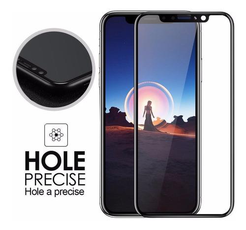 mica de vidrio templado 5d para iphone x / xs