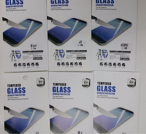 mica de vidrio templado iphone samsung sony huawei  lg htc
