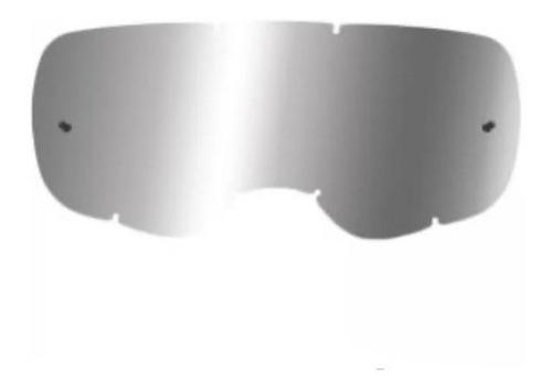 mica fox para goggles airspace / main chrome cromado