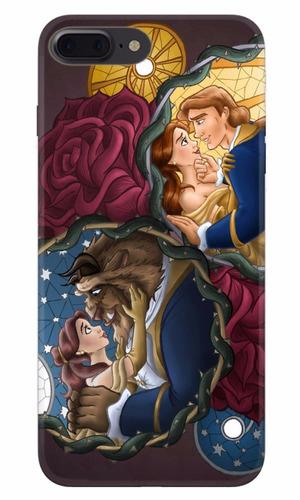 carcasa iphone 8 plus bella y bestia