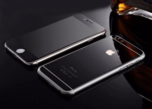 mica glass espejo mirror cristal templado iphone 6 6s plus