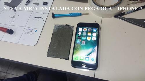 mica iphone x, xs, xs max + instalacion + mejor precio!