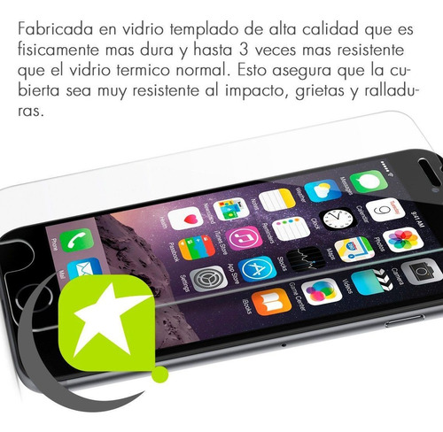 mica lamina de vidrio templado premium iphone 6 plus
