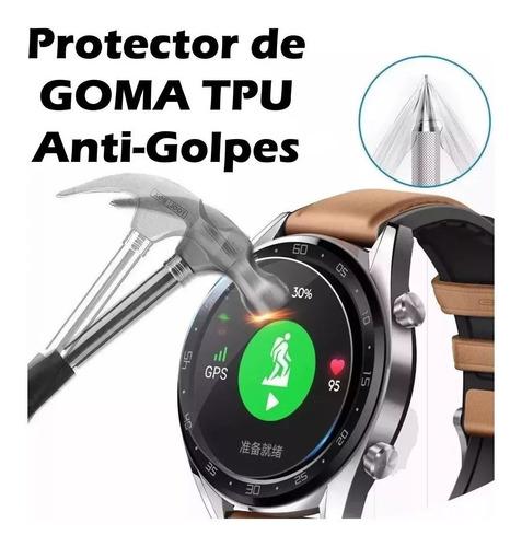 mica lamina pack3 protector reloj huawei watch gt2 46mm 42mm