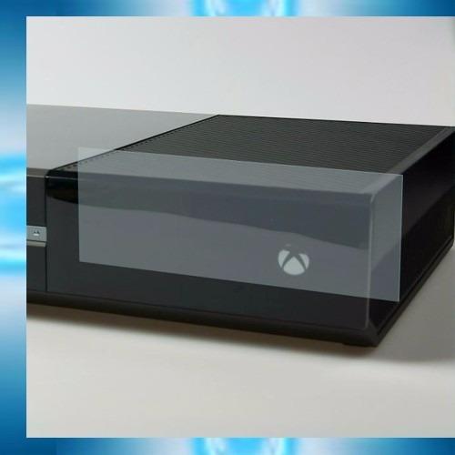 mica microsoft xbox one de 2 piezas + paño limpieza consola