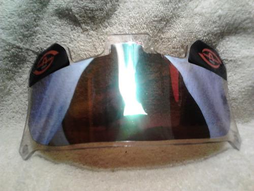 mica para casco de football  shield armor