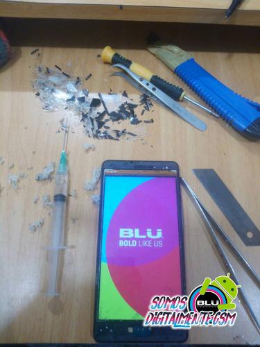 mica para pantalla blu r1 hd instalacion y servicio