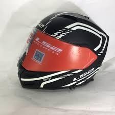 mica pinlock para cascos ls2 metro fire fly ff324 rider one