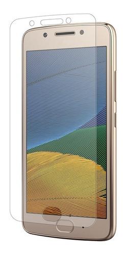 mica protector de pantalla moto g5 plus fibra de vidrio