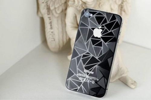 mica protector pantalla para phone 5 ambos lados 3d diamante