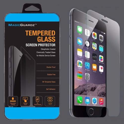 mica protectora glass iphone 6 6s 6 plus / mica vidrio 9h