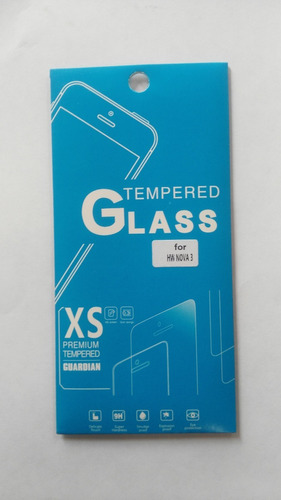mica protectora vidrio templado huawei nova 3