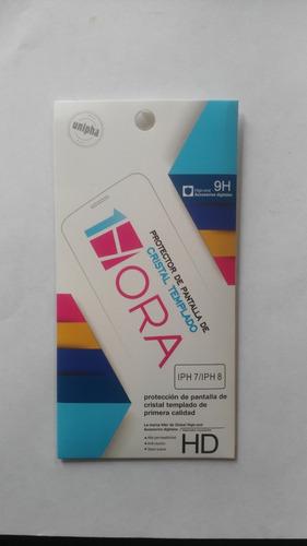 mica protectora vidrio templado iphone h7 / h8