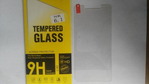 mica protectora vidrio templado nokia nk6 nk 6.1
