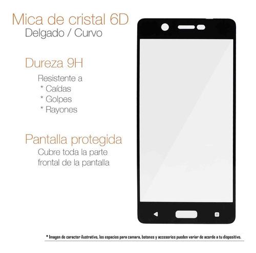 mica samsung a40 a70 a80 a90 a5 a8 j2 pro cristal curvo 5d