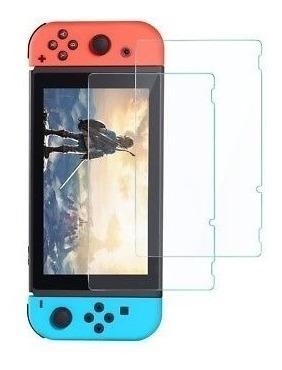 mica screem vidrio protector d pantalla para nuntendo switch