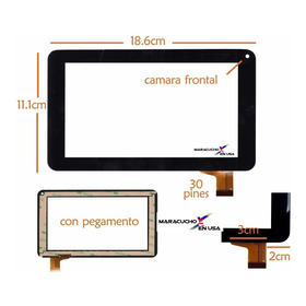 Mica Tactil 7 Para Tablet China Rca Rct6077w2 Rct6272w23
