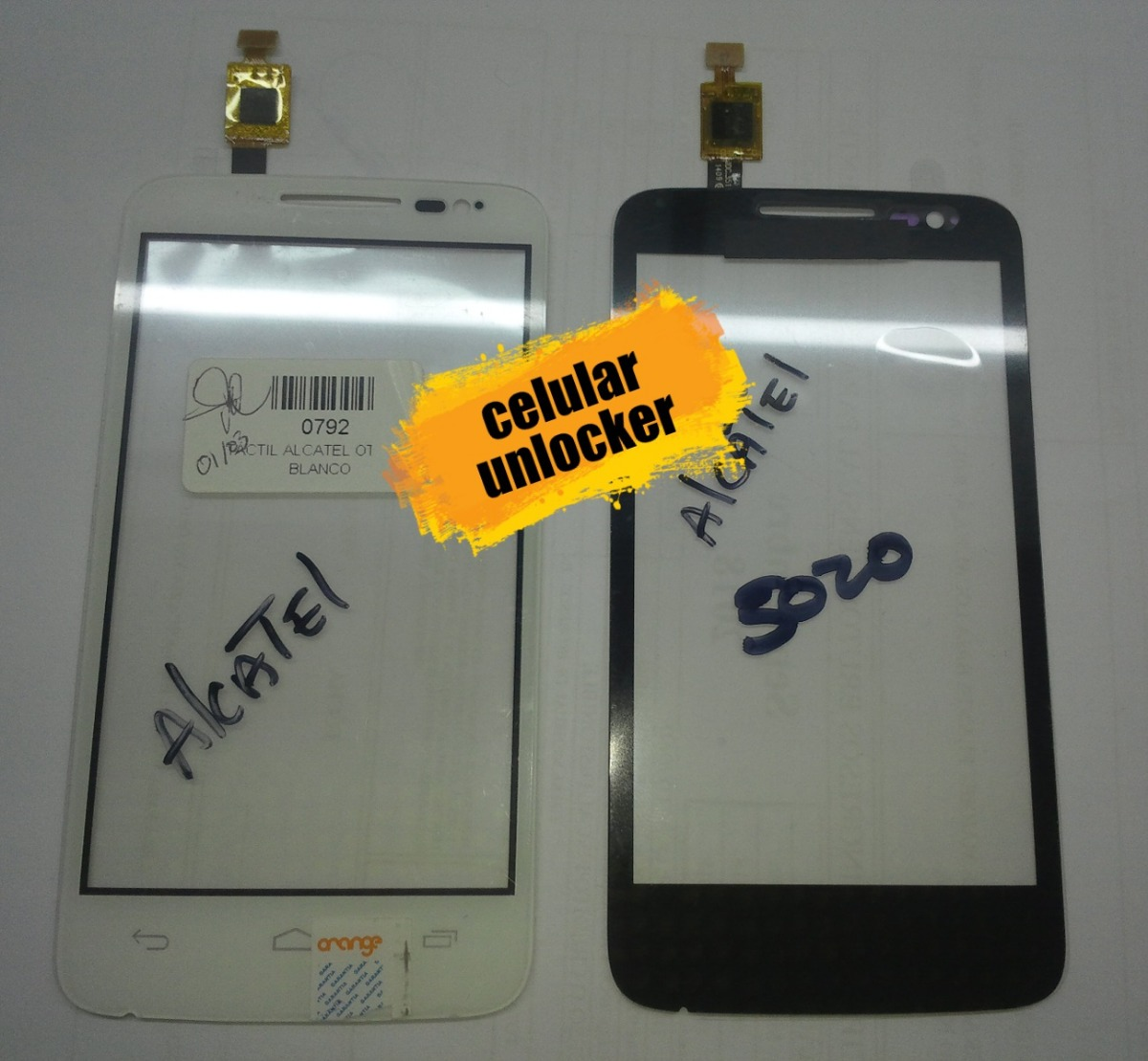 Mica Tactil Alcatel One Touch Mpop 5020 ( 10 )