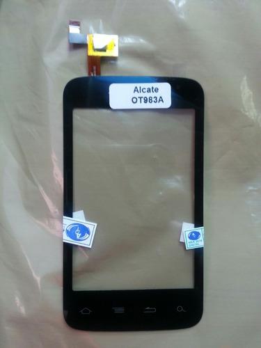 mica tactil alcatel onetouch ot 983a  nuevas