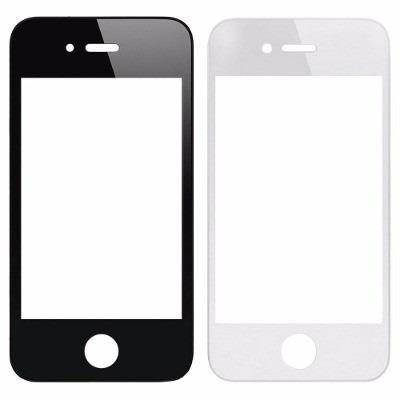 mica tactil de iphone 4 color blanco
