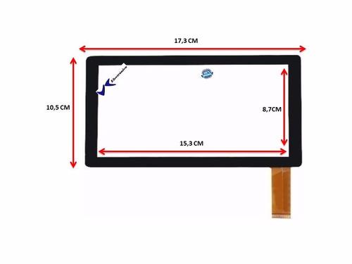 mica táctil digitizer tablet 7  q8 q88 a13 100% original