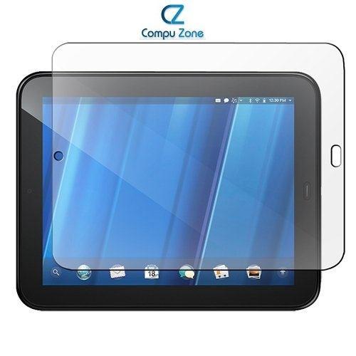 mica transparente para hp touchpad 9.7  + paño de limpieza