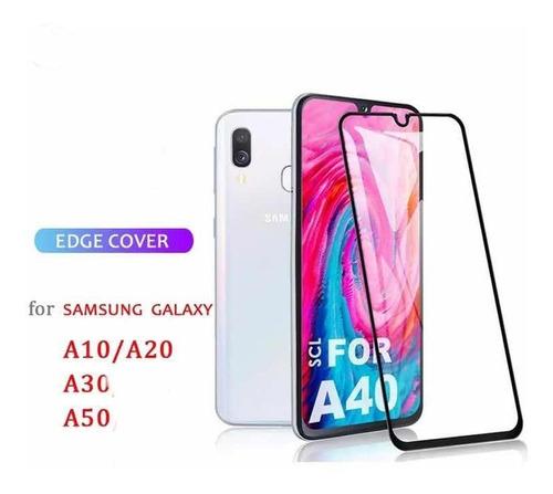 mica vidrio 11d full cover samsung a50/a10/a20/a30/a7 2018