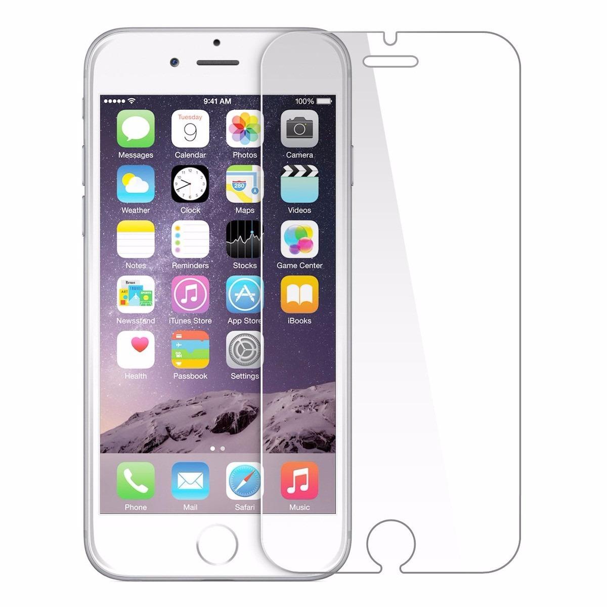 f51b2cf28f7 Mica Vidrio Cristal Templado 9h Para iPhone 5, 5s, 5c - $ 25.00 en ...