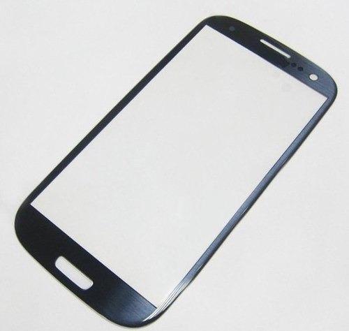 mica vidrio de pantalla samsung galaxy s3 i9300 blanco azul