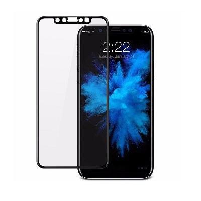 mica vidrio templado 3d front - iphone x borde a borde 3d