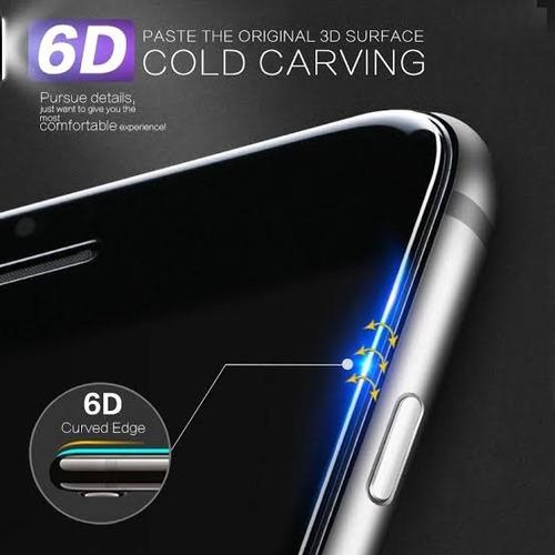 mica vidrio templado 5d iphone x