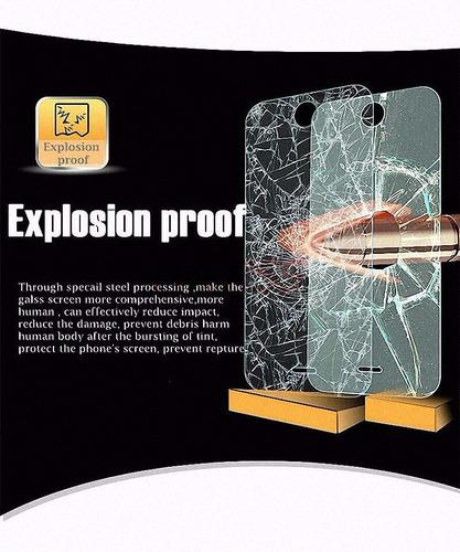 mica vidrio templado anti explosión motorola moto g5 amazing