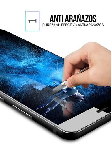mica vidrio templado anti impacto rayaduras iphone x 10
