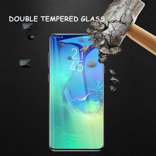 mica vidrio templado cristal uv samsung s10 s9 s8 note 9 8