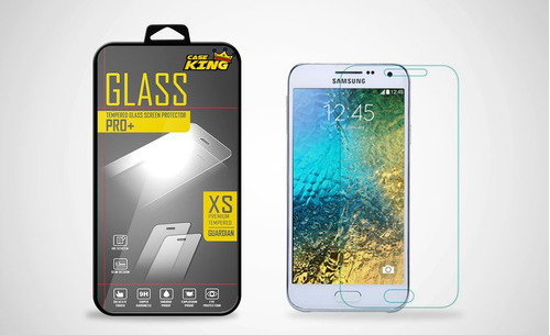 mica vidrio templado glass contragolpes para galaxy e5
