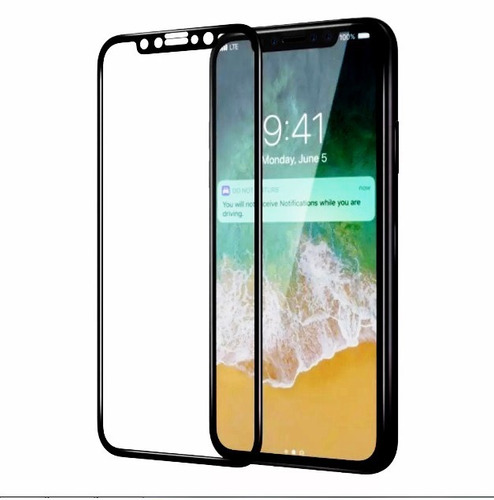 mica vidrio templado iphone x