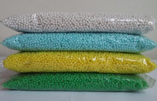 micanga bola conta de plástico 4mm 1000 bolinhas