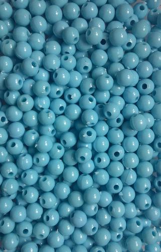 micanga bolinha de plástico 6mm 1000 unid